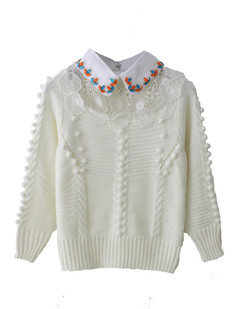 /white-crochet-floral-lace-beads-collar-sweater-p-1158.html