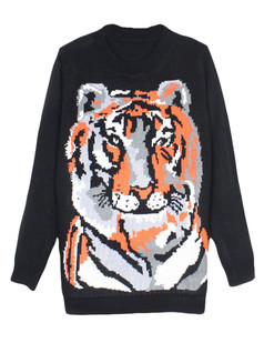 /knitted-tiger-pattern-black-sweater-p-5666.html
