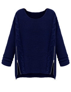 /long-sleeve-side-zipper-cable-knit-pullovers-sweater-blue-p-4880.html