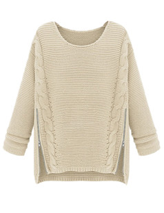 /long-sleeve-side-zipper-cable-knit-pullovers-sweater-white-p-4882.html