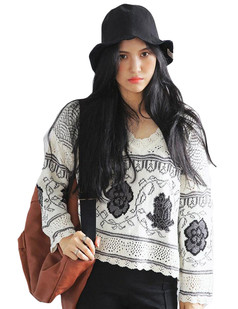 /ethnic-v-neck-hollow-out-flower-knit-sweater-black-p-6102.html