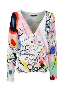 /women-v-neck-cotton-graffiti-print-cardigan-p-461.html