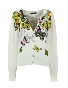/women-v-neck-butterfly-print-cardigan-sweater-knitwear-p-1471.html