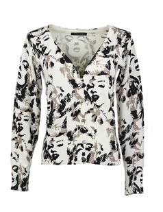 /women-v-neck-marilyn-monroe-print-cardigan-sweater-knitwear-p-1476.html