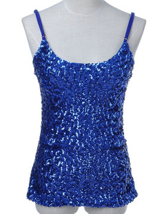 /blue-flashy-sequins-front-spaghetti-strap-tank-top-p-1820.html