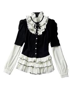 /elegant-standup-collar-ruffle-shirts-tops-blouse-p-3766.html