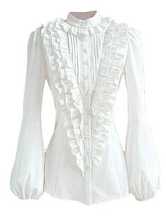 /white-elegant-standup-collar-ruffle-shirts-tops-blouse-p-3770.html