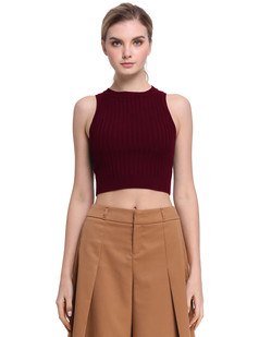 /mock-neck-cable-rib-knit-racerback-crop-tank-tops-burgundy-p-7692.html