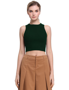 /mock-neck-cable-rib-knit-racerback-crop-tank-tops-green-p-7694.html