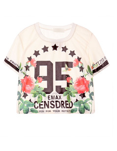 /flowers-letter-print-crop-top-white-p-2940.html