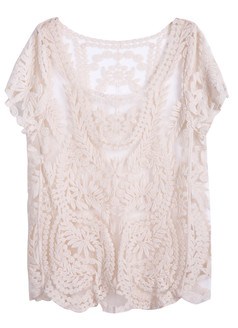 /apricot-short-sleeve-hollow-crochet-lace-top-p-1604.html