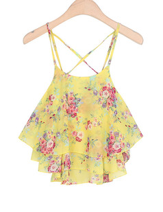 /yellow-flowy-floral-chiffon-overlay-crop-top-tank-p-1864.html