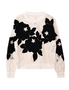 /es/3d-embroidery-floral-lace-mesh-sweater-top-white-p-1335.html