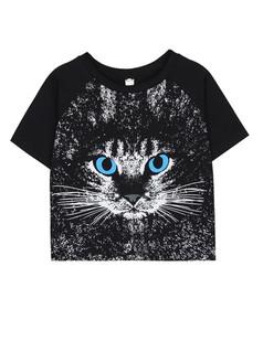 /cute-cat-face-print-black-baremidriff-crop-top-tee-p-1928.html
