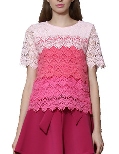 /gradient-rainbow-tiered-floral-crochet-soluble-lace-blouse-p-1936.html
