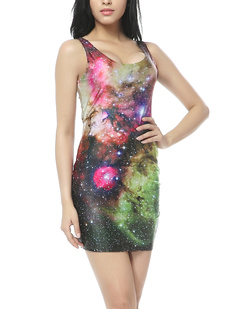 /women-colorful-starry-galaxy-universe-space-print-slimming-bodycon-stretch-vest-short-dress-pencil-dress-p-362.html