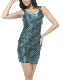 /enchanted-mermaid-fish-scale-print-sleeveless-dress-p-369.html