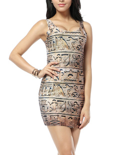 /hieroglyphics-print-sleeveless-dress-p-327.html