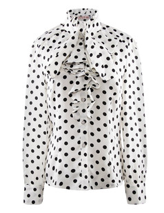 /women-ruffle-polka-dot-print-top-shirt-blouse-p-734.html