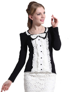 /pt/bowknot-flounce-lace-long-sleeve-tops-p-813.html