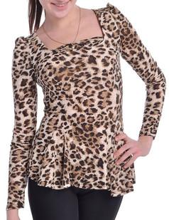 /puff-sleeve-peplum-tshirt-tops-blouse-leopard-p-3218.html