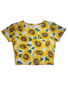 /sexy-belly-sunflower-print-baremidriff-crop-top-p-1902.html