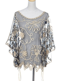 /swirling-golden-flower-sheer-batwing-blouse-p-1624.html