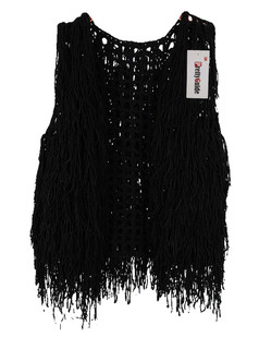/sleeveless-hollow-tassel-vest-coat-black-p-5726.html