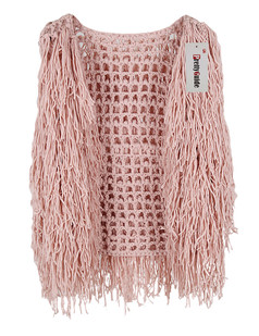 /sleeveless-hollow-tassel-vest-coat-pink-p-5732.html