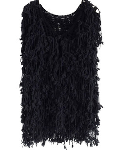 /shaggy-tassel-open-knit-vest-coat-black-p-5884.html