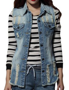 /raw-distress-style-fade-wash-edge-denim-long-vest-p-4704.html