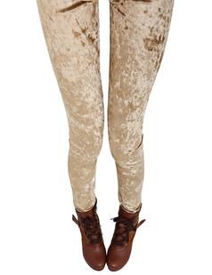 /elastic-waist-bodycon-velvet-leggings-legwear-tights-beige-p-4550.html