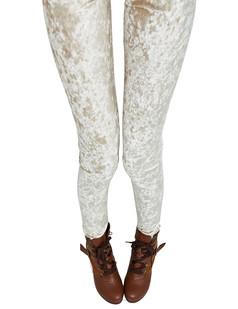 /elastic-waist-bodycon-velvet-leggings-legwear-tights-silver-p-4558.html