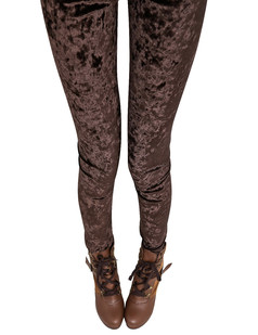 /elastic-waist-bodycon-velvet-leggings-legwear-tights-brown-p-4566.html