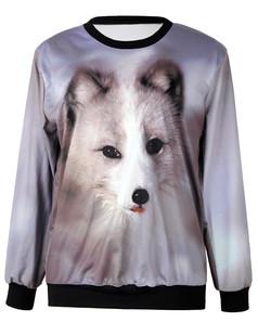 /fox-printing-sweatshirt-jumper-p-4598.html