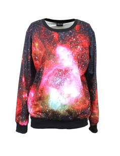 /red-glamour-starry-aurora-galaxy-space-print-loose-jumper-pullover-tops-p-336.html