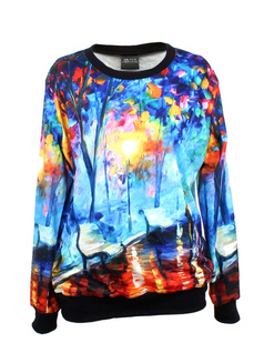 /women-watercolor-painting-tree-forest-print-long-sleeve-loose-lycra-cotton-blouse-jumper-pullover-tops-p-339.html