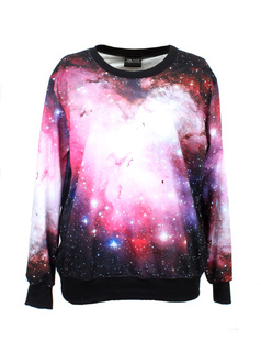 /women-aurora-galaxy-print-long-sleeve-loose-lycra-cotton-blouse-jumper-pullover-tops-p-340.html