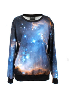 /women-blue-starry-night-galaxy-print-long-sleeve-loose-lycra-cotton-blouse-jumper-pullover-tops-p-341.html