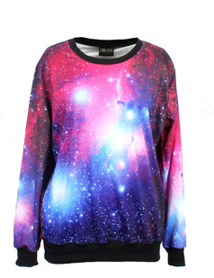 /women-purple-red-starry-space-galaxy-print-long-sleeve-loose-lycra-cotton-blouse-jumper-pullover-tops-p-346.html