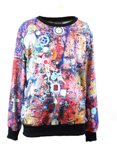 /ja/abstract-prague-astronomical-clock-print-jumper-sweatshirt-p-931.html