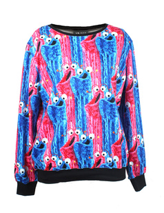 /blue-and-pink-cartoon-snail-print-sweatshirt-p-1057.html