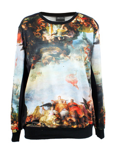 /womens-angel-religious-paintig-print-sweatshirt-p-1148.html