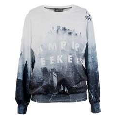 /grey-vampire-castle-print-polyester-sweatshirt-p-4716.html