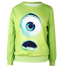 /green-monster-eye-pattern-design-polyester-sweatshirt-p-4714.html