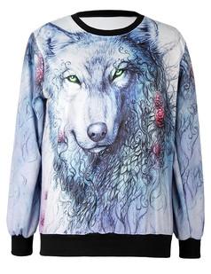 /wolf-printing-sweatshirt-jumper-p-4606.html