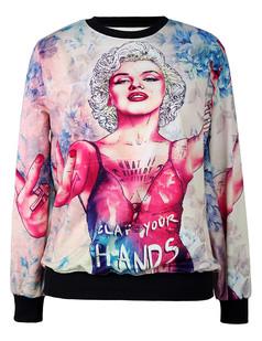/marilyn-monroe-printing-sweatshirt-jumper-p-5248.html