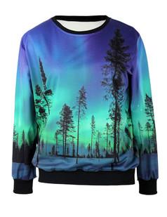 /aurora-forest-trees-print-sweatshirt-jumper-p-5818.html