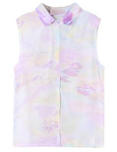 /sheer-chiffon-tie-dye-point-collar-sleeveless-shirt-top-purple-p-3564.html