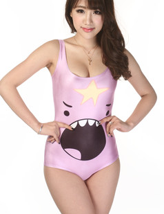 /roaring-cartoon-faces-print-onepiece-swimsuit-p-2742.html